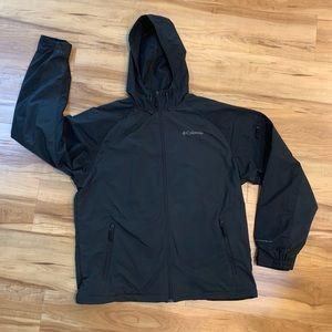Water resistant Columbia jacket black